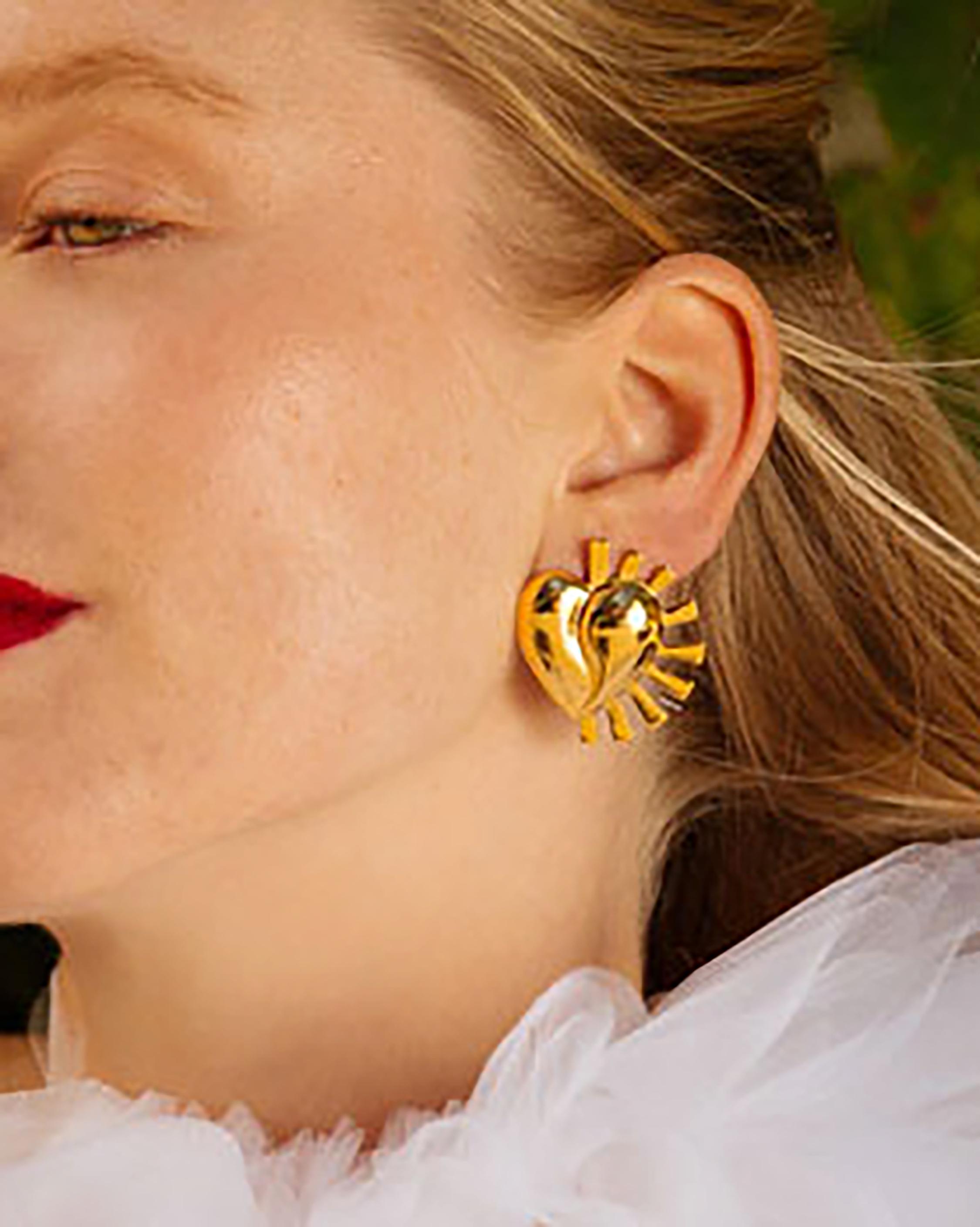 Lina Hernandez Punk Lola Stud Earrings 1