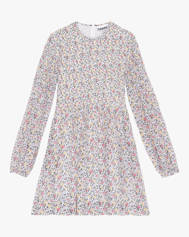 Ganni Georgette Mini Dress 1