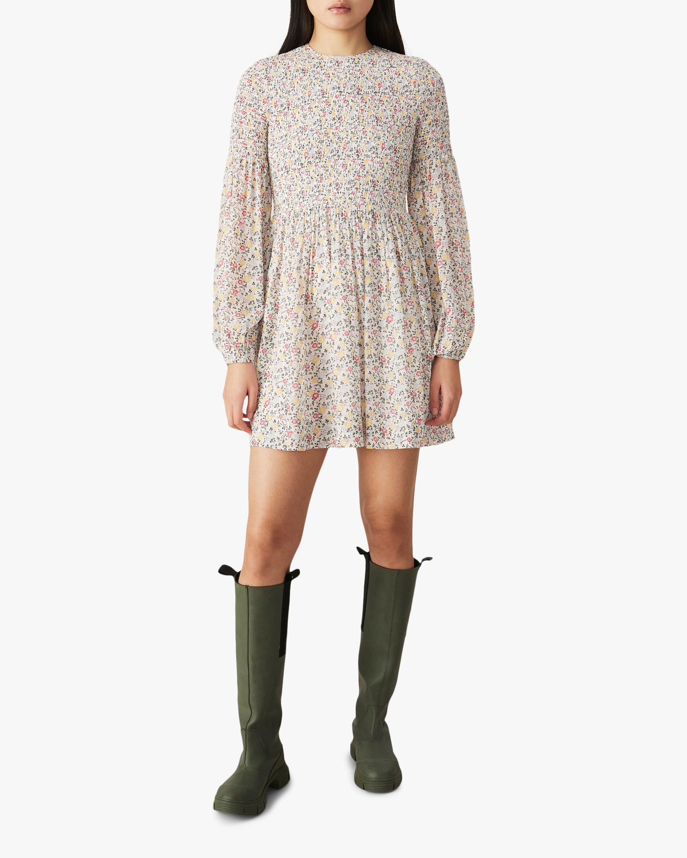 Ganni Georgette Mini Dress 2