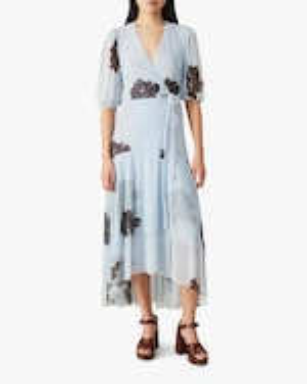 Ganni Mesh Midi Dress 1