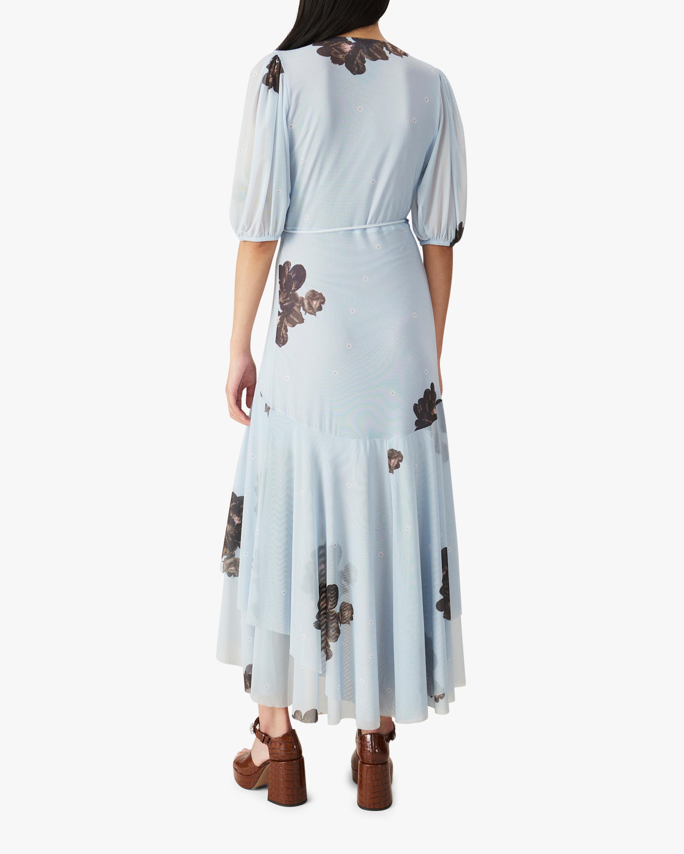 Ganni Mesh Midi Dress 2