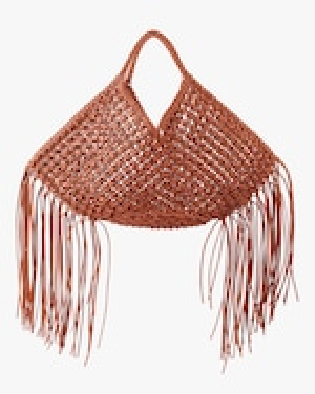 Yuzefi Large Woven Basket Handbag 0