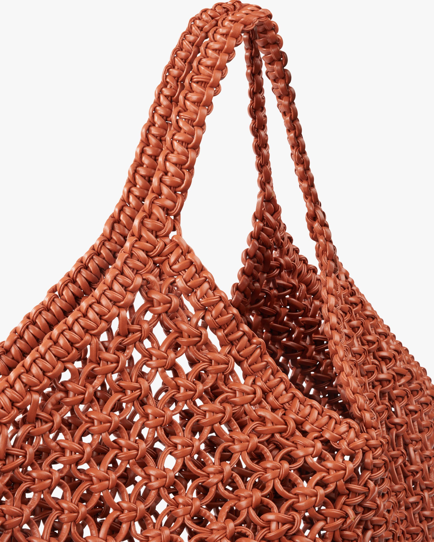 Yuzefi Large Woven Basket Handbag 2