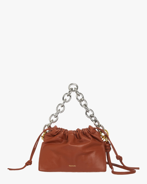 Tan Mini Bom Handbag