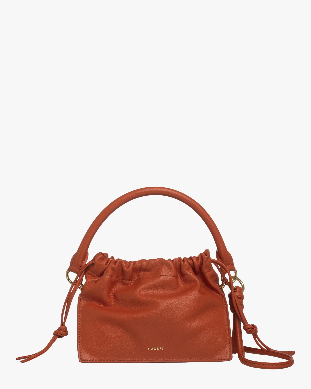 Yuzefi Tan Mini Bom Handbag 1
