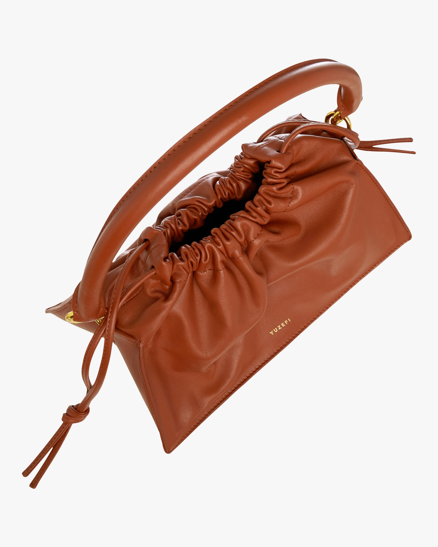 Yuzefi Tan Mini Bom Handbag 5