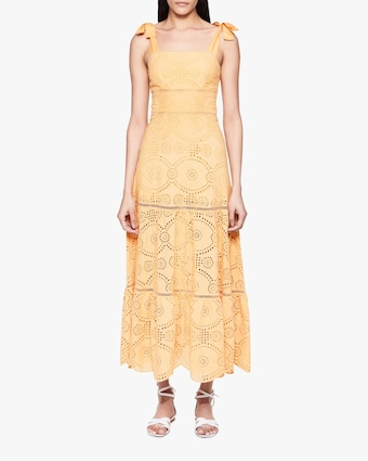 Jonathan Simkhai Nicole Midi Dress 1