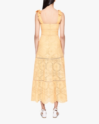 Jonathan Simkhai Nicole Midi Dress 2