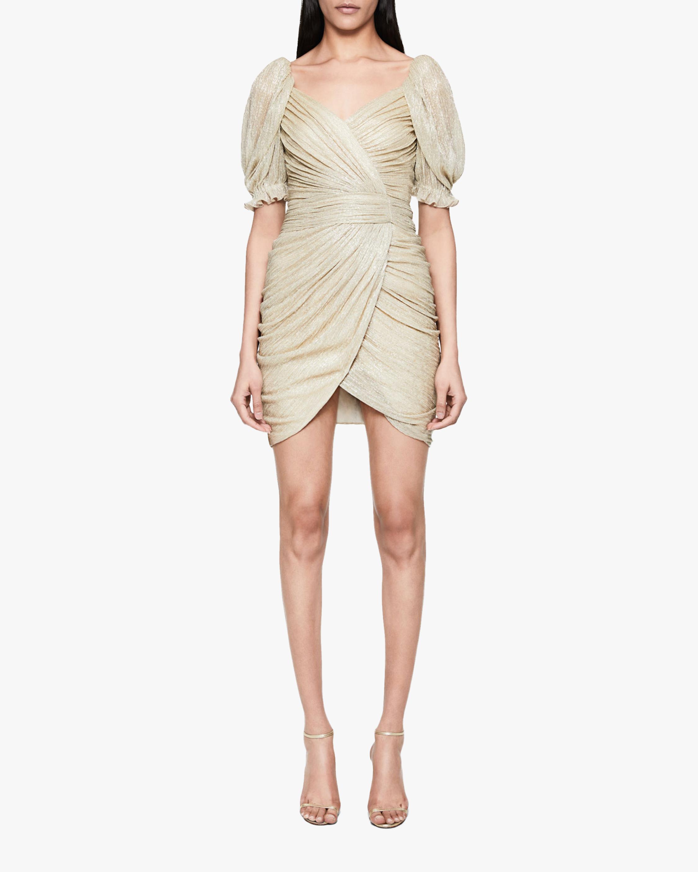 Jonathan Simkhai Nina Wrap Mini Dress 0