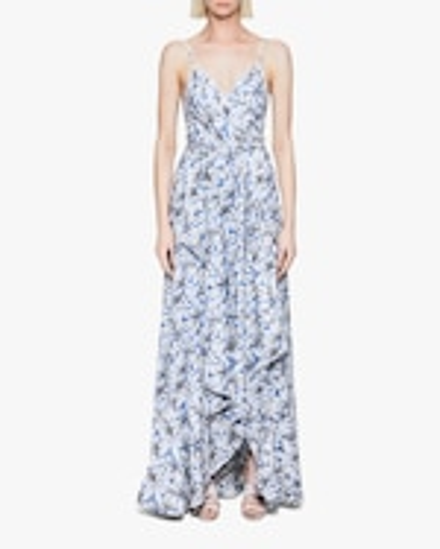 Jonathan Simkhai Ava Wrap Gown 0