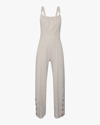Stephanie Open-Back Jumpsuit
