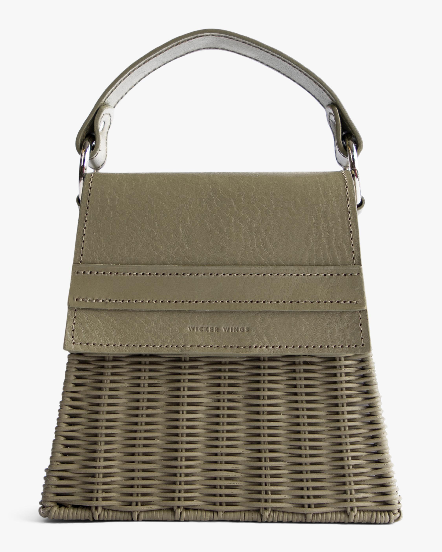 Wicker Wings Olive Lian Handbag 0