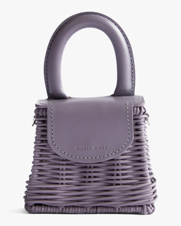 Wicker Wings Lavender Micro Bo Handbag 1