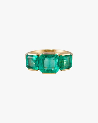 One-of-a-Kind Emerald Supreme Ring