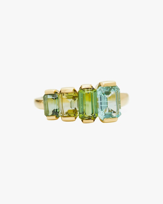 Yi Collection One-of-a-Kind Tourmaline Crescendo Ring 0
