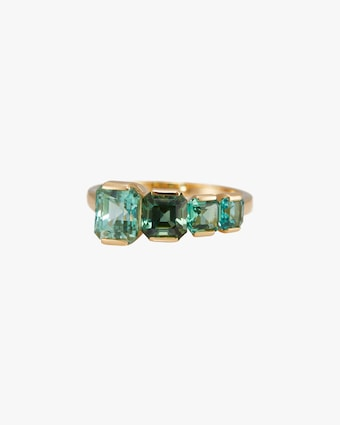 One-of-a-Kind Tourmaline Crescendo Ring