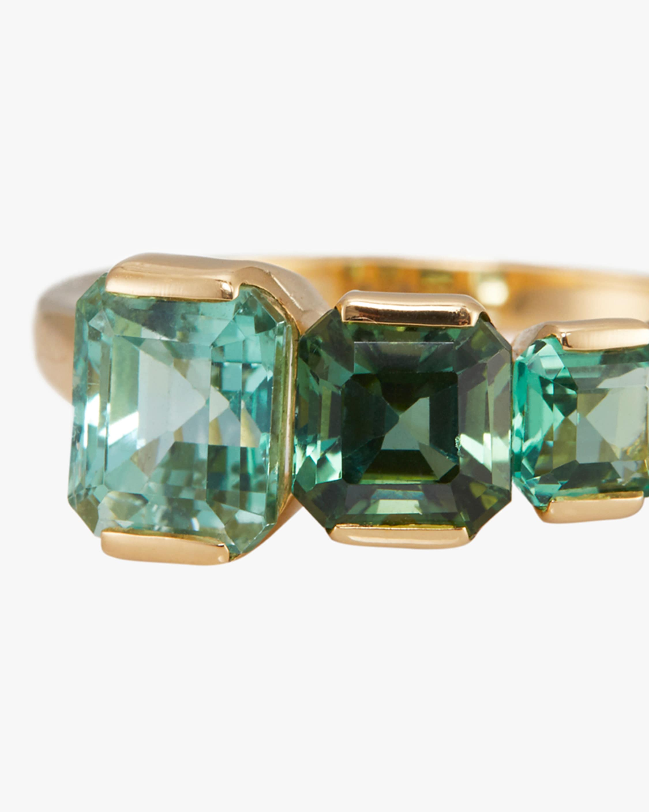 Yi Collection One-of-a-Kind Tourmaline Crescendo Ring 2