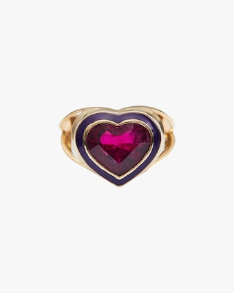 Yi Collection Rubellite Love Ring 1