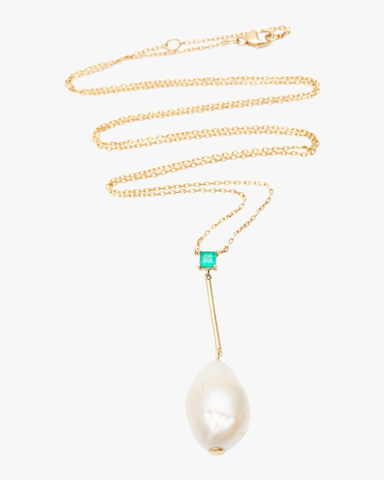 Yi Collection Pearl Pendant Necklace 0