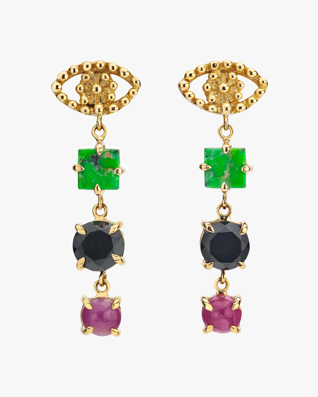 Gaya Eye Drop Earrings 1