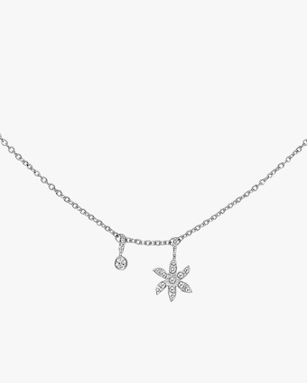 Gaya Flower Charm Necklace 2