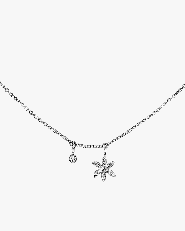 Gaya Flower Charm Necklace 1