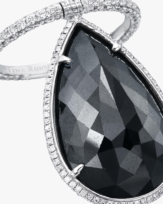 Nina Runsdorf Briolette Diamond Flip Ring 1
