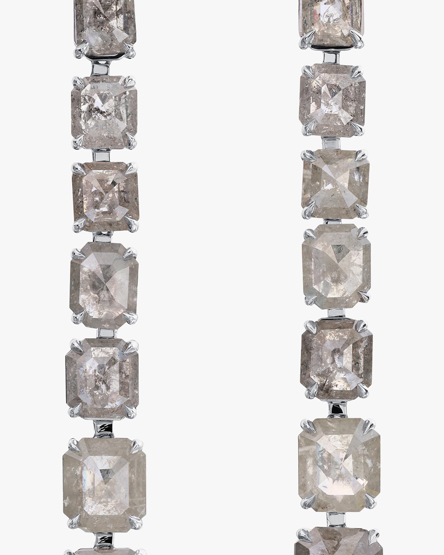 Nina Runsdorf Clair de Lune Line Earrings 1