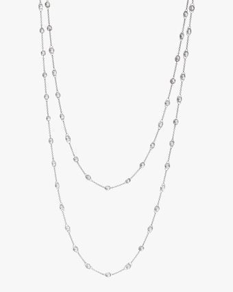 Nina Runsdorf Diamond Briolette Chain Necklace 1