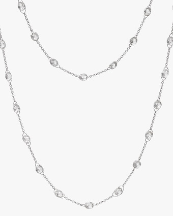 Nina Runsdorf Diamond Briolette Chain Necklace 2