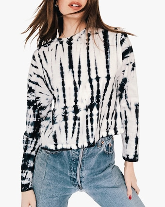 The Dying Over You Crop Long-Sleeve Tee