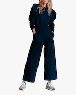 Sold Out NYC The Crop Culotte Sweatpant 0