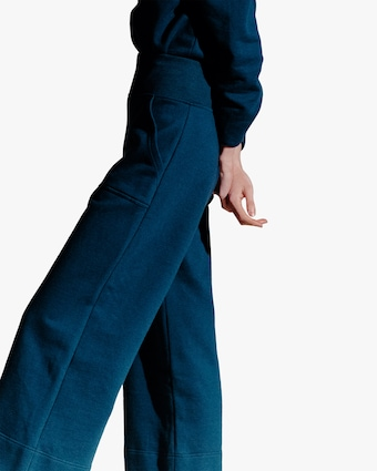 The Crop Culotte Sweatpant