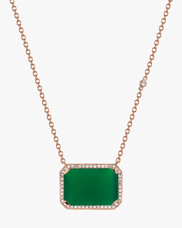 Shay Jewelry Portrait Diamond Pendant Necklace 0
