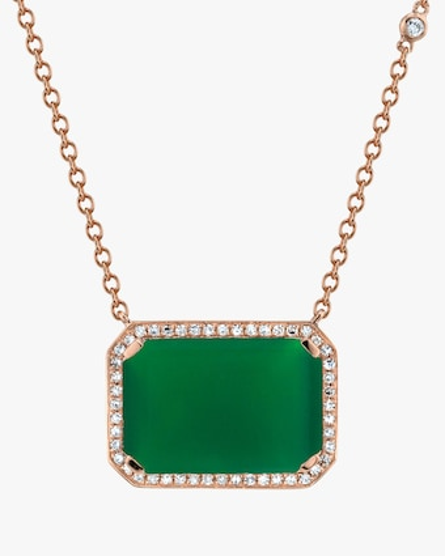 Shay Jewelry Portrait Diamond Pendant Necklace 2