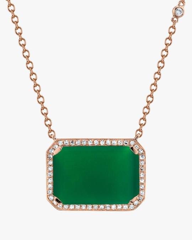Shay Jewelry Portrait Diamond Pendant Necklace 1