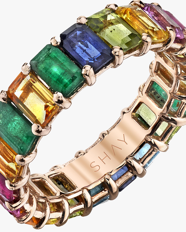 Shay Jewelry Rainbow Gemstone Eternity Band 2