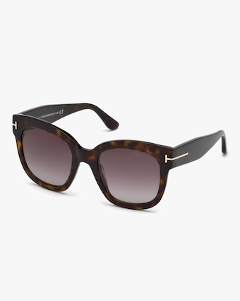 Tom Ford Tortoise Square Sunglasses 2