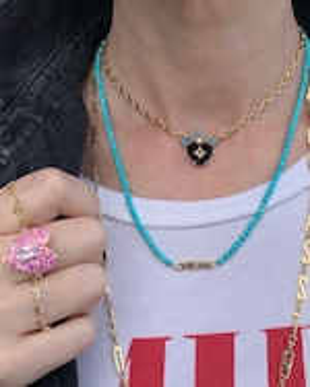 Eden Presley Dream Beaded Necklace 0