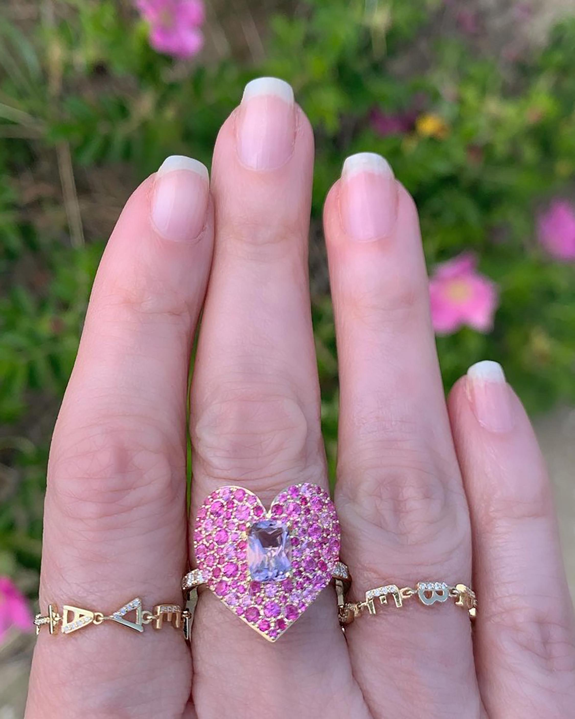 Eden Presley Love Luck Ring 1