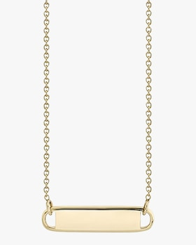 Name Plate Necklace