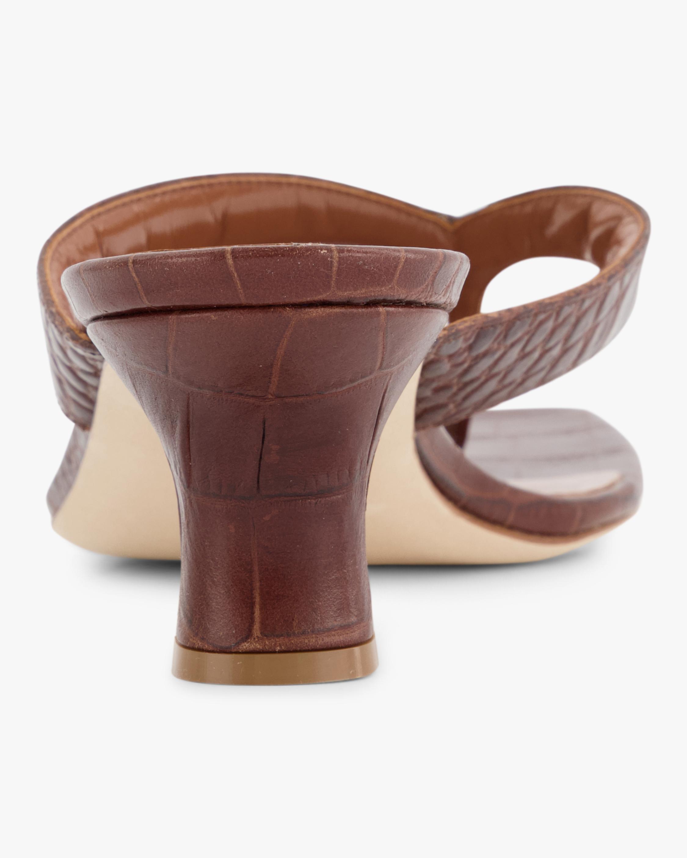 Paris Texas Croc-Embossed Thong Sandal 3