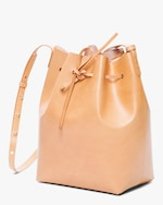 Mansur Gavriel Cammello Leather Bucket Bag 2