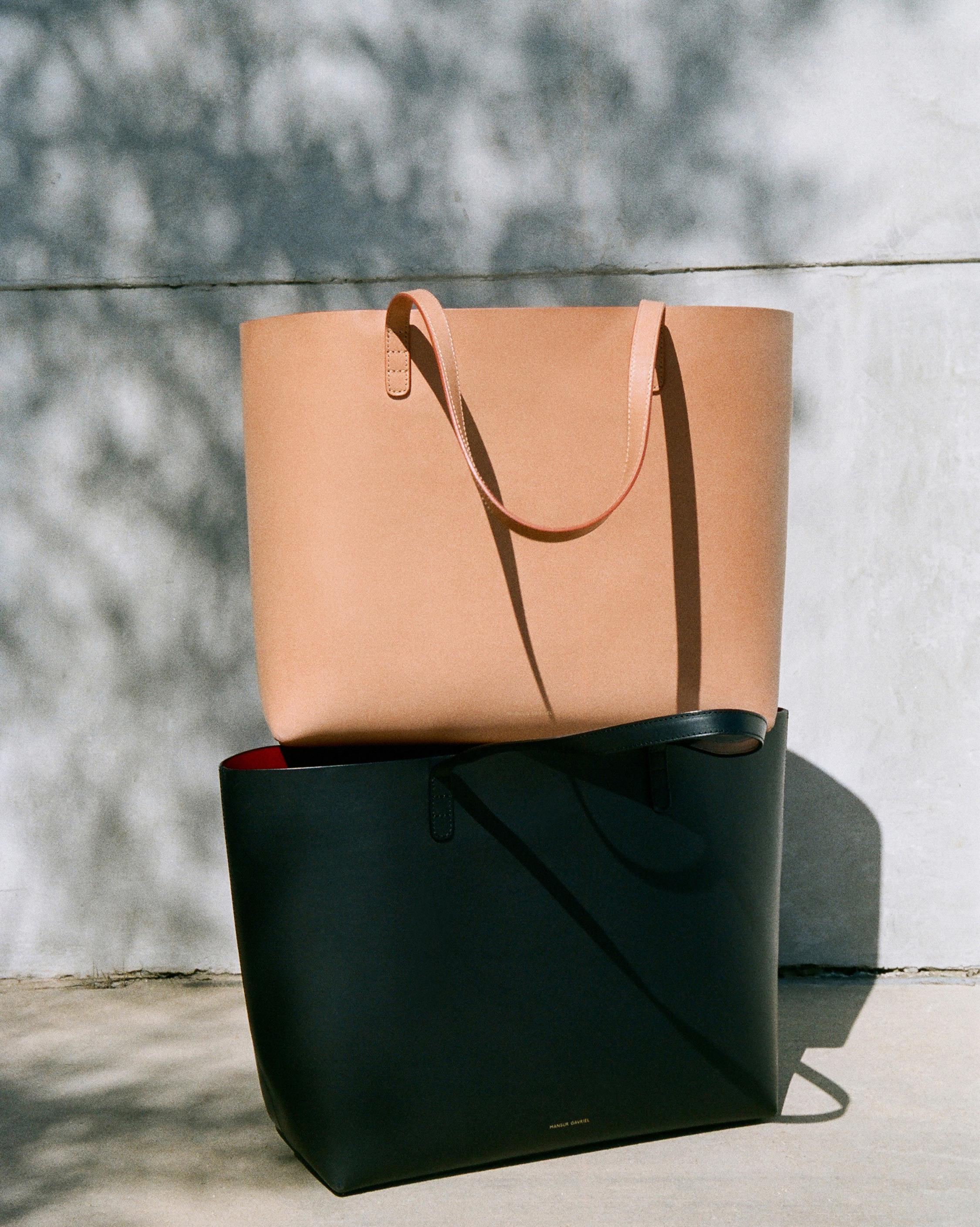 Mansur Gavriel Cammello Large Leather Tote 3