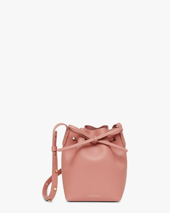 Mansur Gavriel Blush Mini Mini Bucket Bag 1