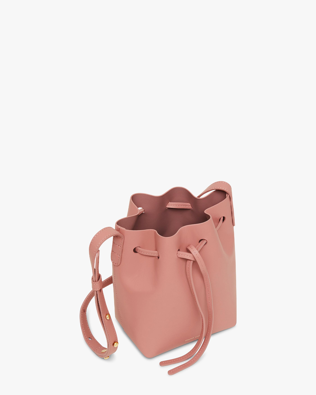 Mansur Gavriel Blush Mini Mini Bucket Bag 1