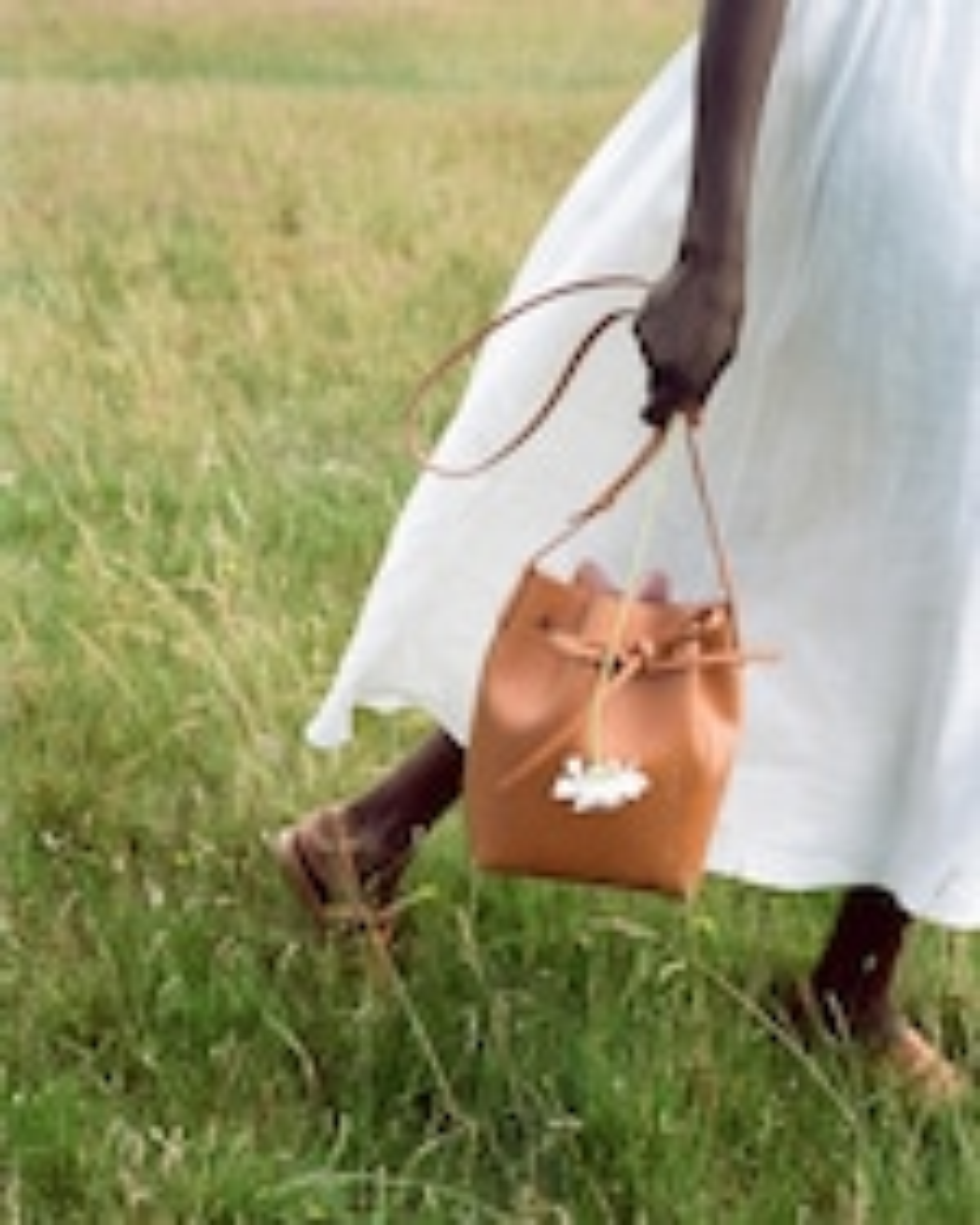 Mansur Gavriel Cammello Mini Mini Bucket Bag 1