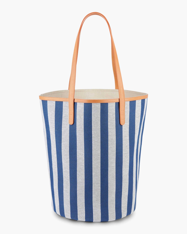 Mansur Gavriel Canvas Circle Bucket Bag 0