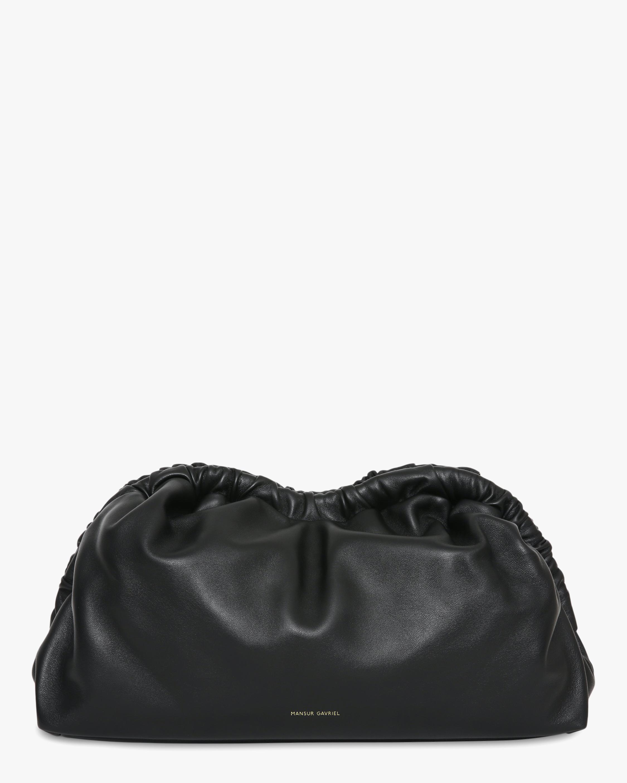 Black Flamma Cloud Clutch