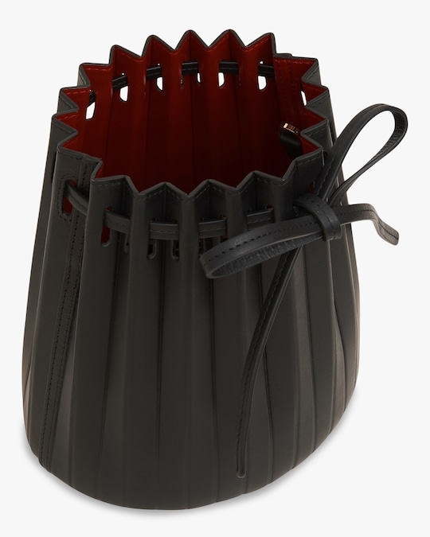 Mansur Gavriel Mini Pleated Bucket Bag 1